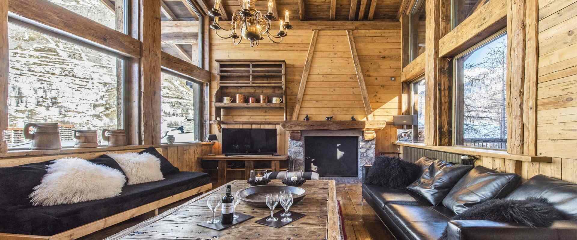 Les chalets covarel location de chalets de luxe val d for Piscine val d isere