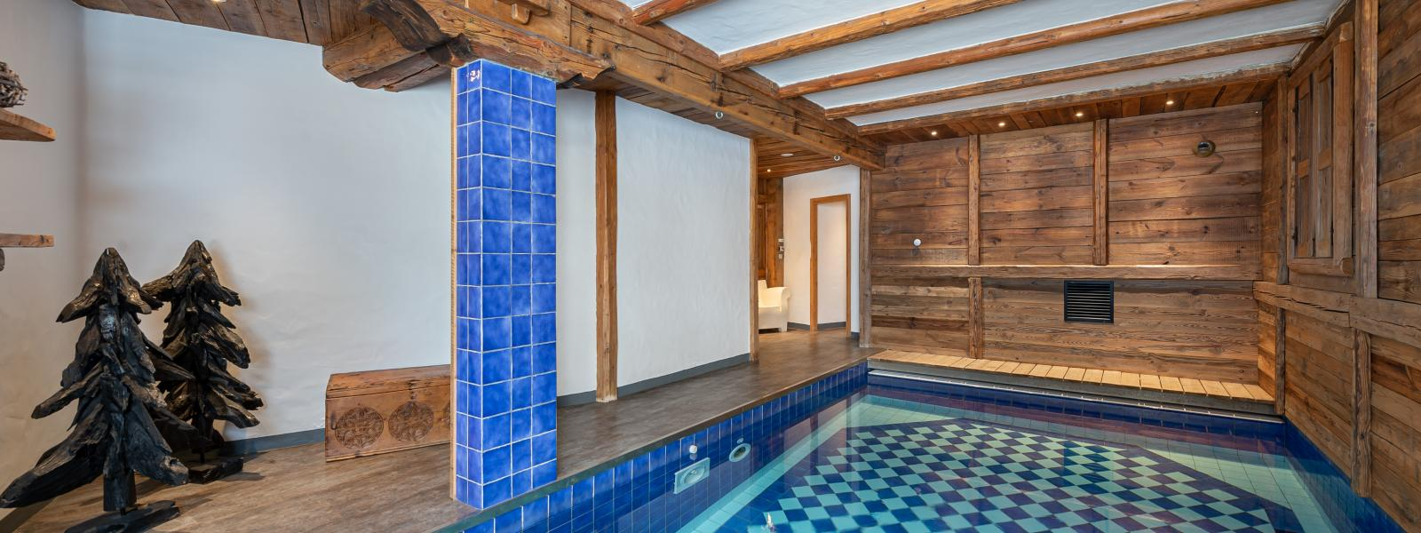 Chalet Pauline 3 - Location chalets Covarel - Val d'Isère Alpes - France - Piscine bis