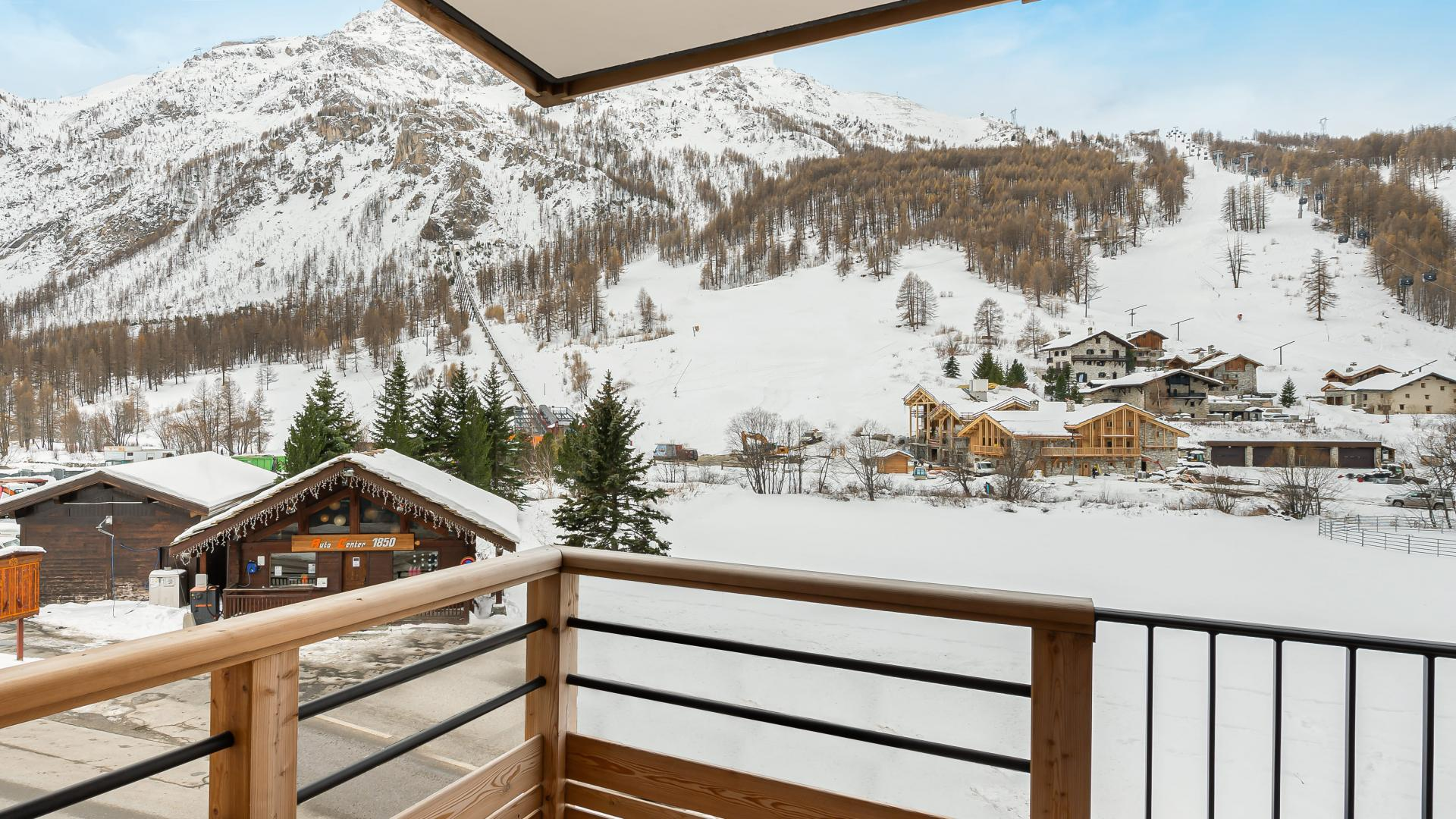 Appartement Ourson 13 - Location chalets Covarel - Val d'Isère Alpes - France - Terrasse