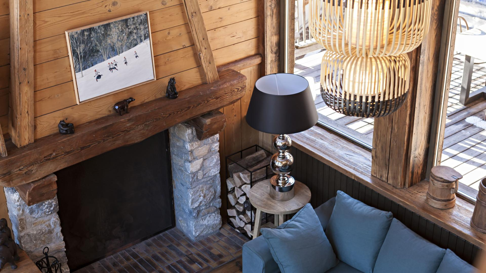 Chalet Alice 15 - Location chalets Covarel - Val d'Isère Alpes - France - Salon
