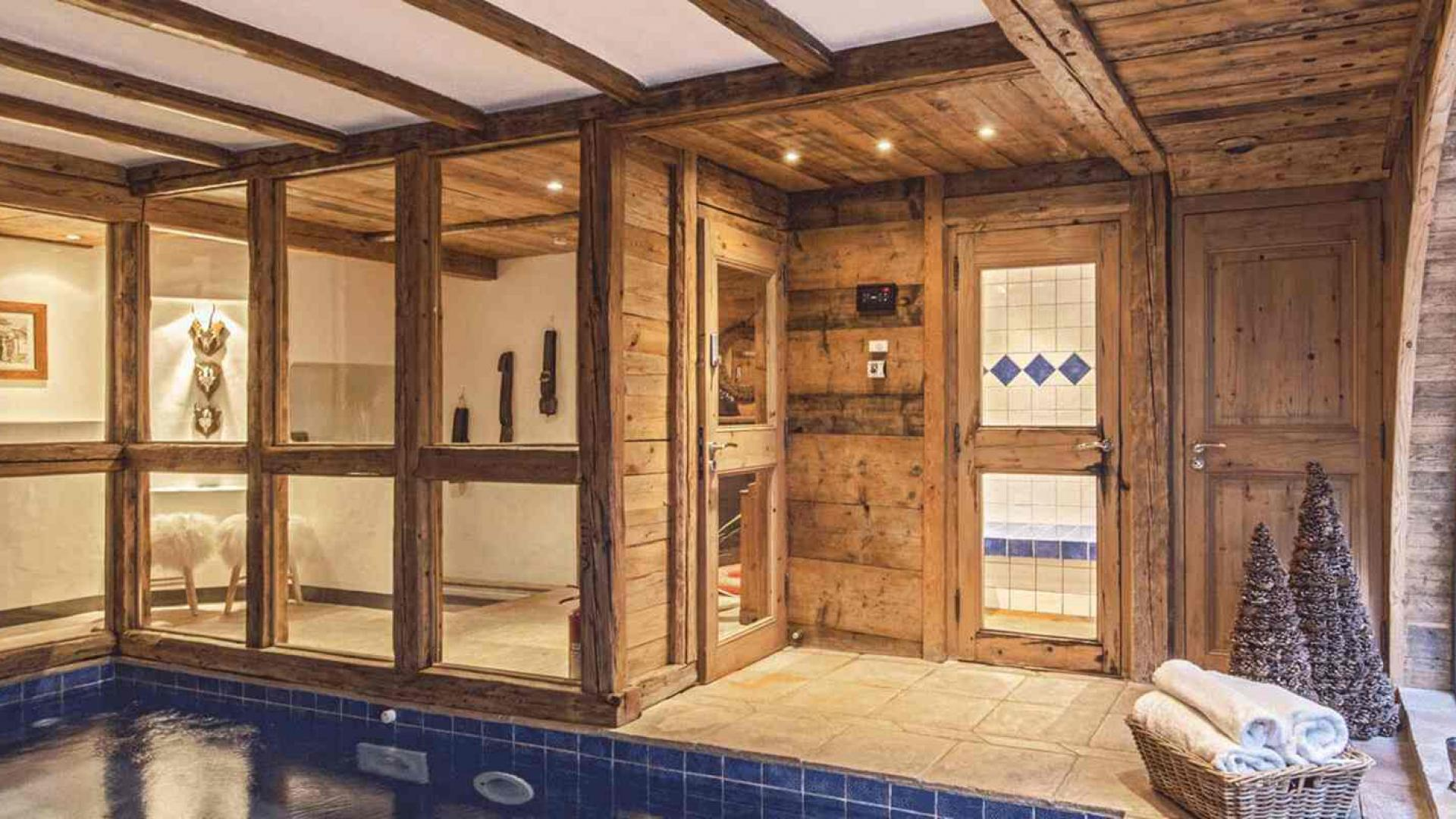 Chalet Alice 4 - Location chalets Covarel - Val d'Isère Alpes - France - Piscine