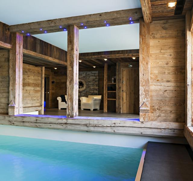 Location chalet Face de Bellevarde Spa